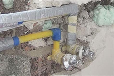 Neue Wasserleitungen Kosten by Wasserleitung Verlegen Wasserrohre K 252 Rzen Anleitung