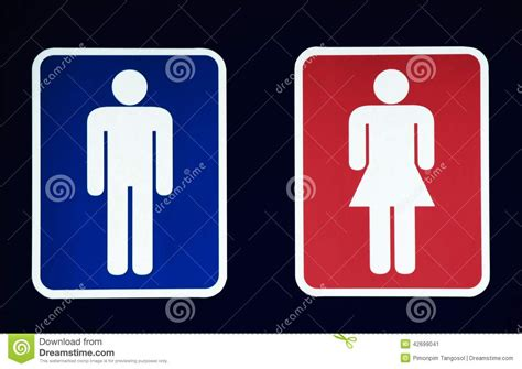 male bathroom symbol male and female restroom symbol stock photo image 42699041