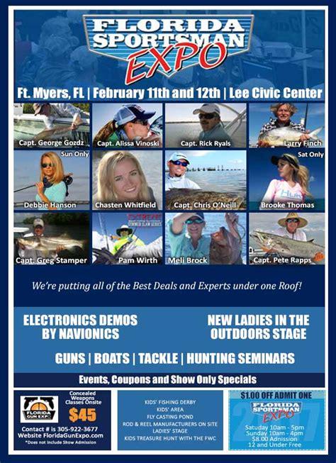 fort myers boating forecast fs fishing expo florida sportsman