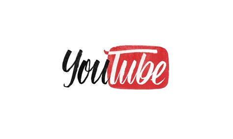 logo design free youtube brand by hand famous logos reimagined in hand lettering