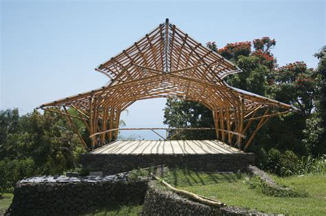 House Design Plans Philippines bamboo wave pavilion hawaii bamboo construction