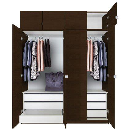 Rustic Livingroom Furniture by Alta Tall Wardrobe Closet Package 6 Drawer Wardrobe