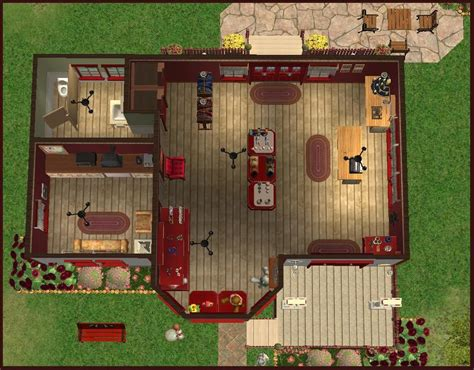 Gift Shop Floor Plan by Mod The Sims Country Road Gift Shoppe