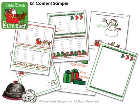 christmas bunco themes bunco score sheets free bunco bunco score sheets bunco themes bunco