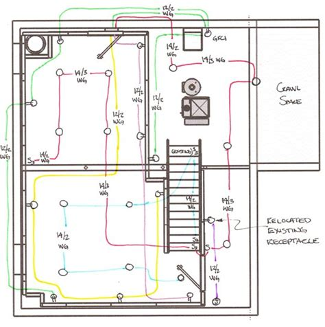 typical basement wiring diagram efcaviation