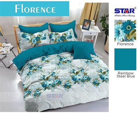 detail product sprei dan bedcover florence toko bunda