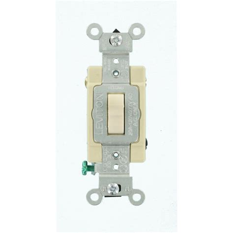 leviton electrical switches leviton 20 4 way toggle switch light almond r66 0csb4 2ts the home depot