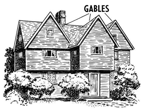 In House Meaning by Gable Buildings Roof Gable Png Html
