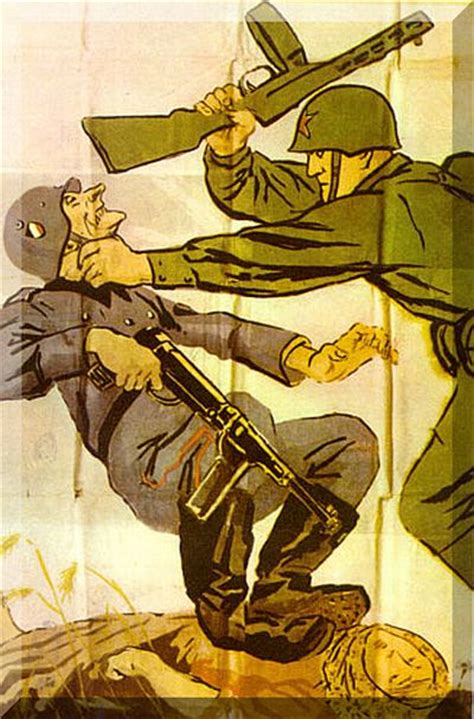 german soldier vs soviet 1472824563 history in images pictures of war history ww2 russian soviet posters during the second