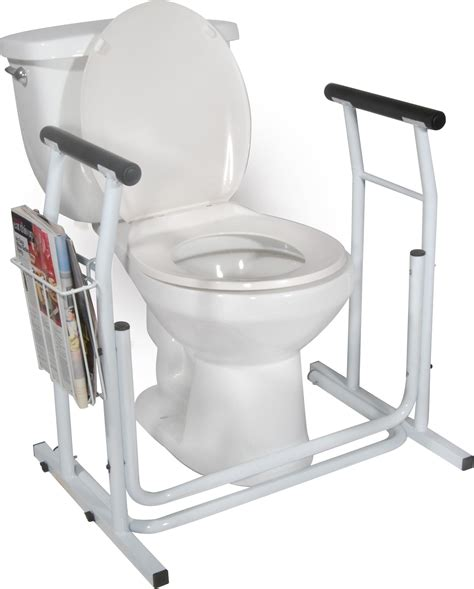 bathroom safety rails stand alone toilet safety rail drive medical