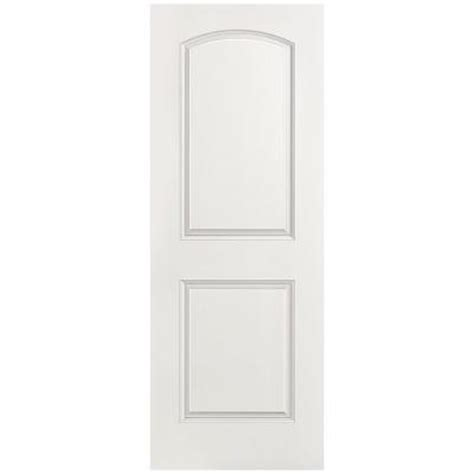2 Panel Interior Doors Home Depot Masonite Smooth 2 Panel Top Hollow Primed Composite Interior Door Slab 11093