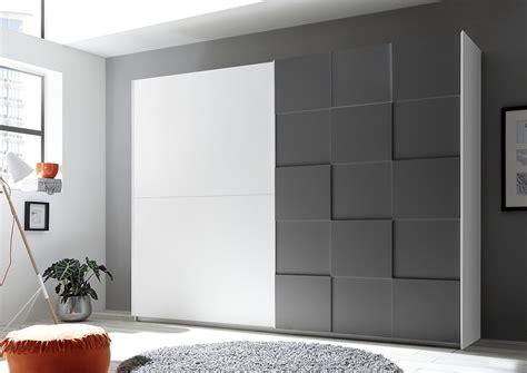armadio moderno design armadio moderno 2 ante scorrevoli con forme geometriche