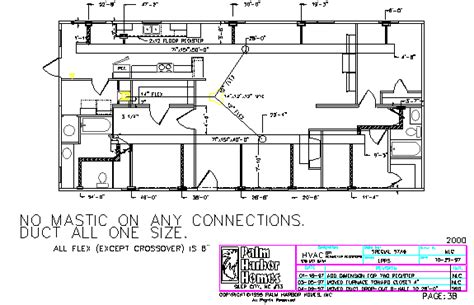 hvac floor plan hvac plans layout