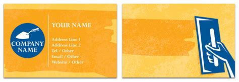 plastering business cards templates plastering business cards templates gallery business