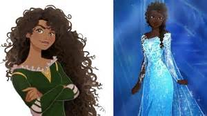 elsa amp anna frozen black girls