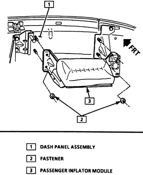 airbag deployment 1984 ford ltd security system repair guides supplemental inflatable restraint sir system general information