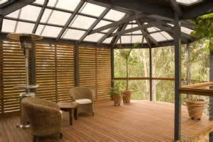 Diy Enclosed Patio Decking Timber Designs Softwoods