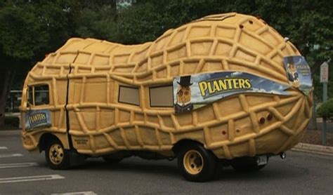 lol oddly enough i saw the planters nutmobile last
