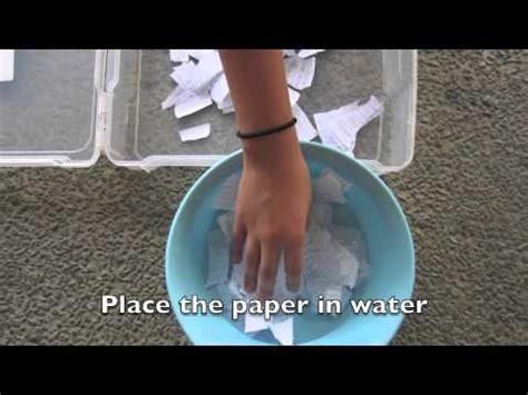 How To Make Paper Water Proof - how to make waterproof paper