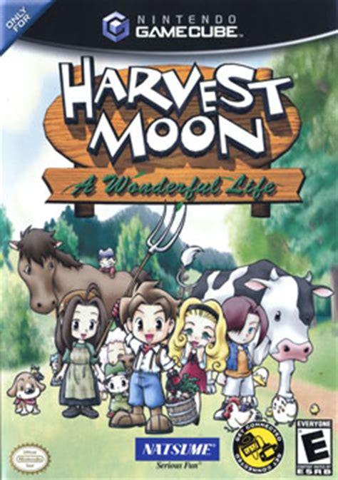 emuparadise harvest moon harvest moon a wonderful life iso