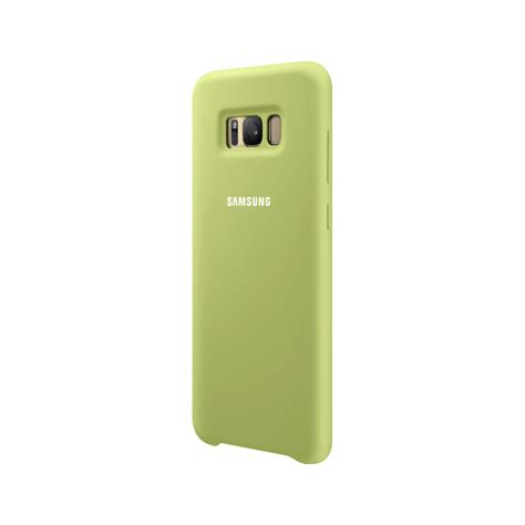Silicone Samsung Galaxy S8 Or S8 Plus samsung galaxy s8 plus silicone cover groen