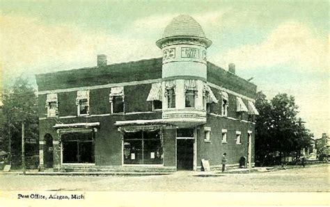 images of michigan post offices