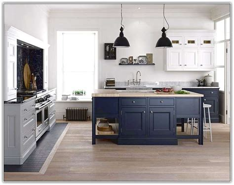 dark blue kitchen dark blue kitchen island home design ideas