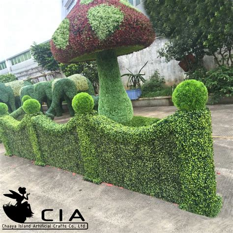 hedge topiary garden artificial boxwood topiary hedge topiary buy