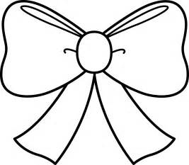bow coloring pages bow coloring page free clip