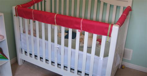 Plastic Crib Rail Cover by Silly Designs Don T Chew That Crib Rail Cover A