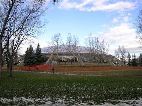 olympic oval university of calgary buitenkant van de oval picture of olympic oval calgary