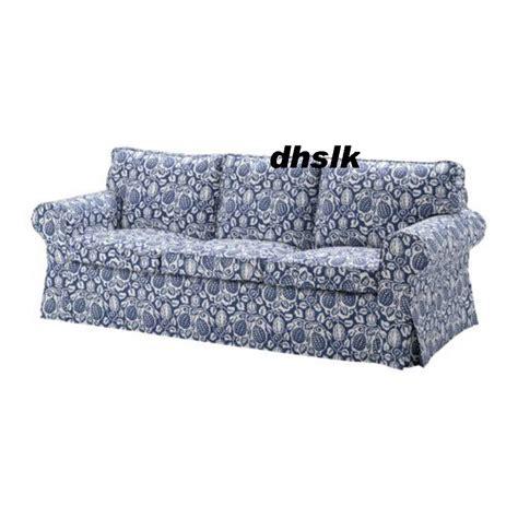 ikea floral couch ikea ektorp 3 seat sofa cover klintbo blue slipcover