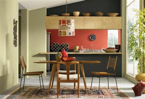peinture mur cuisine tendance murs cuisine couleur