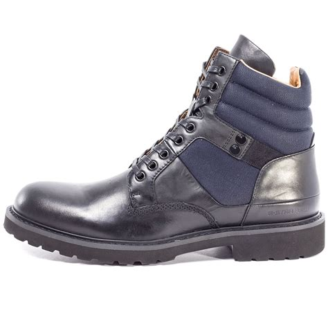 navy mens boots g tanker mens boots in black navy