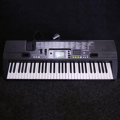 Keyboard Casio Second Casio Ctk 710 W Power Supply 2nd Rich Tone