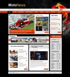 Template Sports by Motor Sports Website Template 25229