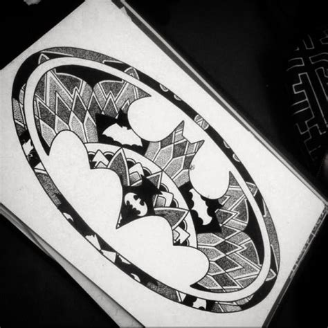 batman mandala tattoo batman drawing tumblr google search cool drawings
