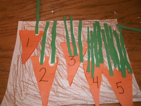 Garden Projects For Kindergarten Carrot Crafts For Search Stuff