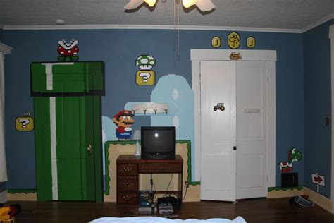 super mario bedroom decor 10 awesome video game themed bedrooms room bath