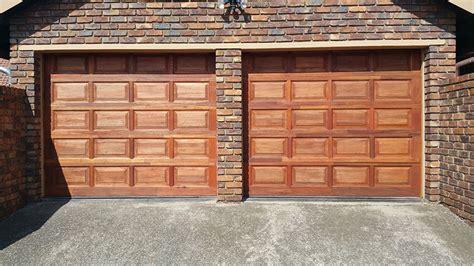 20 Panel Single Meranti Magnificent Doors Single Garage Door Panel
