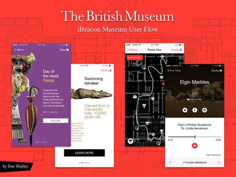 design museum app material design wireframe kit v2 sketch freebie download