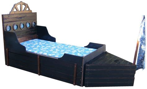 pirate ship twin bed new custom two piece pirate ship twin rustic wooden boat bed w storage trunk