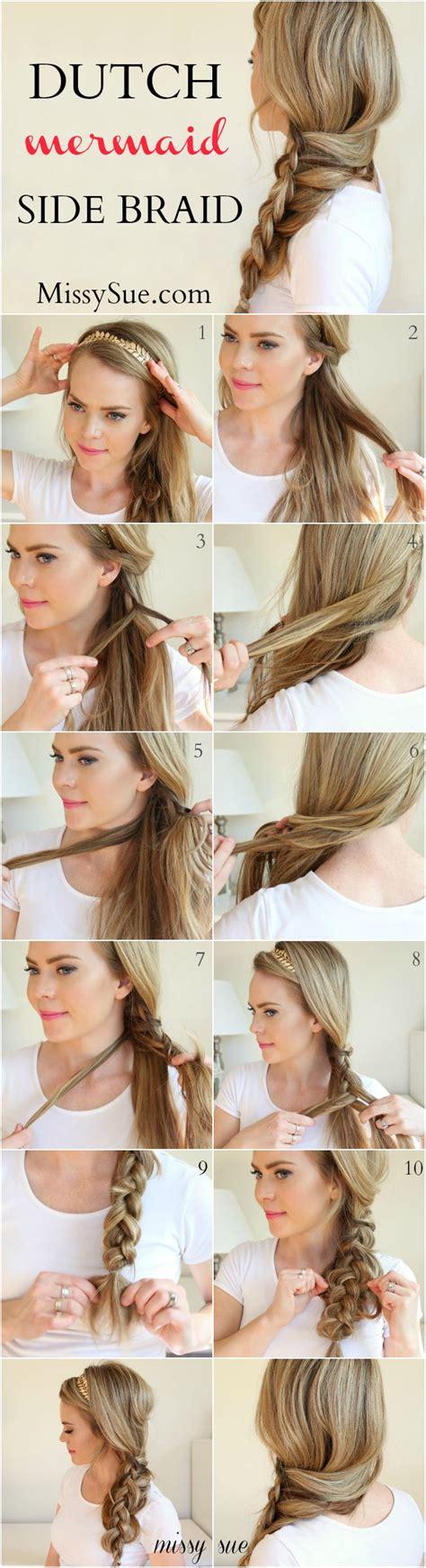 the ultimate mermaid braid step by step instructions side swept braid hair you won t miss hair tutorials