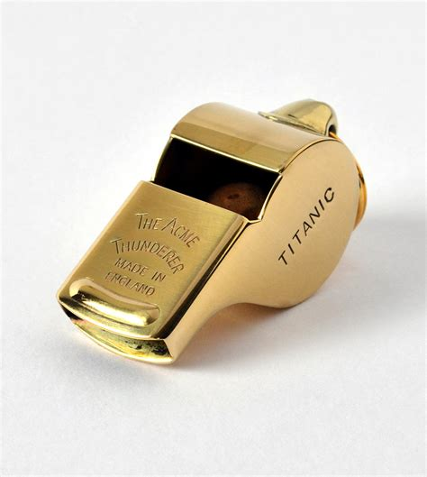 Whistles At Whistles by Ss57 Titanic Mate S Whistle Acme Whistles Of Canada