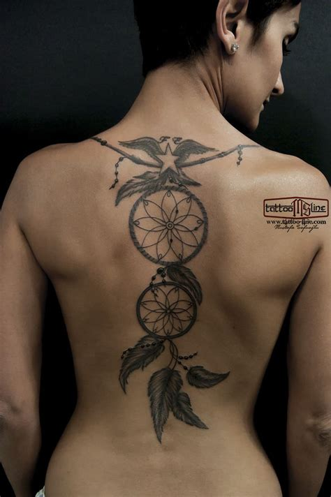 dreamcatcher tattoo down back 24 best some of my tattoo art images on pinterest