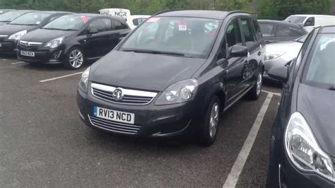 opel zafira 2013 2013 vauxhall zafira start up exhaust and in depth tour