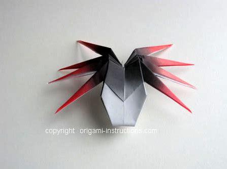 Spider Origami - animals origami 3d spider origami paper origami guide