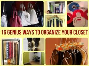 how to organise your closet 16 genius ways to organize your closet