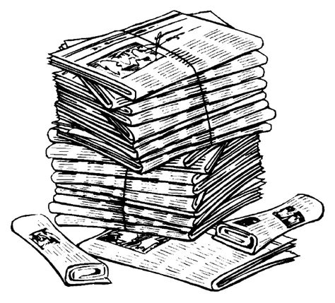 newspaper clipart newspaper clip world of label