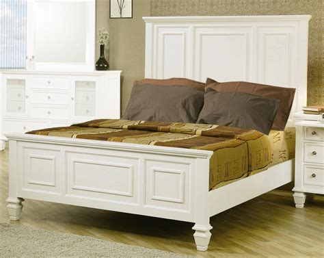 sandy beach bedroom set coaster sandy beach light low profile panel bedroom set